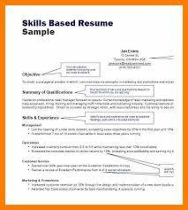 Skills Based Resume Examples by 4 Skill Based Resume Sample Janitor Resume