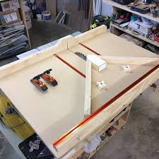 miter cuts on table saw table saw cross cut sled with the miter sled by mattley