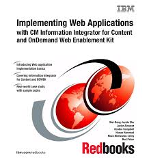 implementing web applications with cm information integrator for