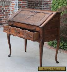bureau style louis xv antique oak louis xv fall front writing desk bureau
