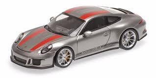 porsche 911 2016 porsche 911 r 2016 silver 1 43 minichamps 410066222 ebay