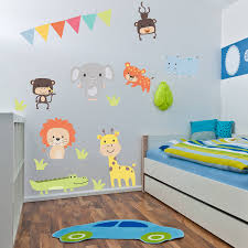 jungle animal childrens wall stickers by parkins interiors jungle animal childrens wall stickers