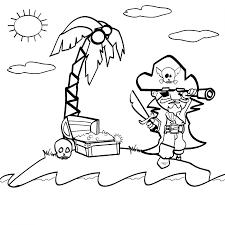 24 dessins de coloriage pirate à imprimer