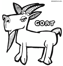 top 80 goat coloring pages free coloring page