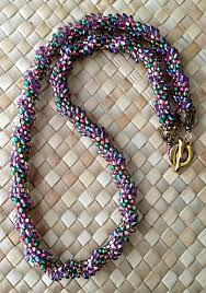 bead necklace patterns images 13 kumihimo braiding patterns made with long magatama beads jpg