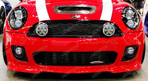 oem fit mini cooper led daytime running lights rally driving ls