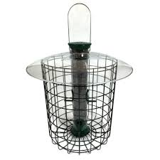 sunflower domed cage feeder green sdc droll yankees