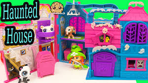 pinypon glow in the dark halloween haunted house playset