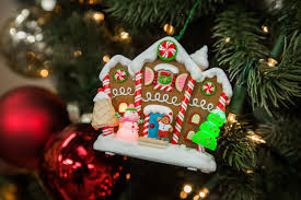 gingerbread merriest house in town ornament countdown to