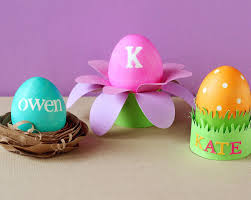 Easter Decorations Sweden by Stamped Easter Eggs