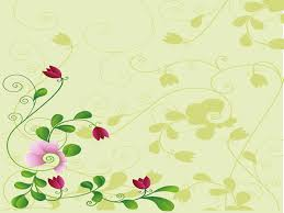 flower and shadow ppt backgrounds flowers templates ppt grounds