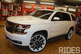 first 2015 tahoe on 26 inch wheels rides magazine