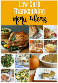 low carb thanksgiving menu ideas your specialty weight loss