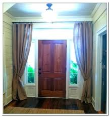 Curtains For Front Door Window Awesome Front Window Curtain Ideas Of Front Door Window Covering