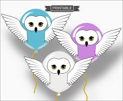 owl balloons diy harry potter style owl baby shower or party balloon