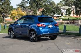 asx mitsubishi 2017 2017 mitsubishi asx xls review video performancedrive