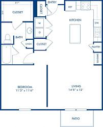 1 2 3 bedroom apartments in dallas tx camden henderson blueprint of ea3 floor plan 1 bedroom and 1 bathroom at camden henderson apartments in