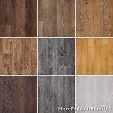 Laminate Lino Flooring Wood Effect Lino Laminate Vinyl Ebay
