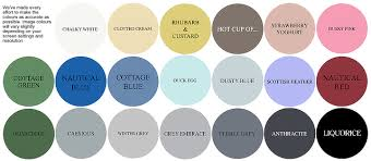 blue shabby chic furniture chalk paint 250ml