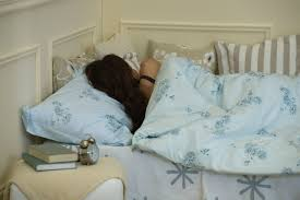 this is the best position to sleep in when you have your period