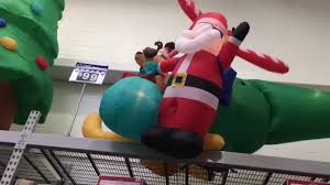 christmas inflatables new christmas inflatables at walmart 2017