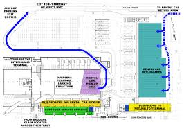 Ewr Terminal Map Department Of Transportation New Car Rental Facility To Open At