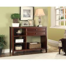 linon home decor wander cherry storage entertainment center