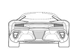 ferrari sketch new ferrari patents could be for one off custom laferrari sp