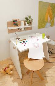 Red Kids Desk by Gabrielle Wood Desk Kids Chair 40 In W X 15 In H White 6 Cube