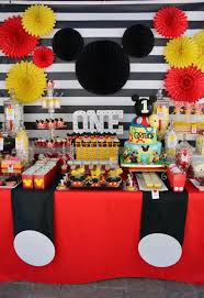 mickey mouse party mickey theme bday party mickey mouse party ideas