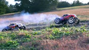 traxxas nitro monster truck full throttle nitro fun t maxx classic youtube