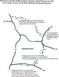 file west midlands motorway network proposed renumbering