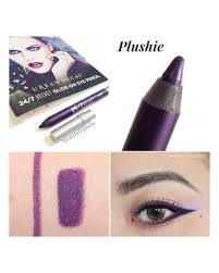 urban decay minis 24 7 velvet glide on eye pencil plushie