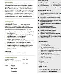 Resume Template For Administrative Position 26 Blank Work Resume Templates Free U0026 Premium Templates