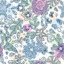beautiful wrapping paper floral endless pattern will look great on fabric wrapping paper