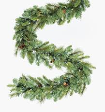 9 u0027 pre lit madison pine artificial christmas garland 100 clear