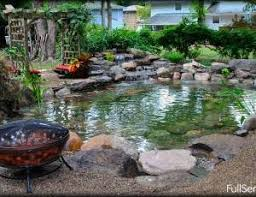 Building A Fish Pond In Your Backyard by How To Build A Water Garden Koi Fish Pond In New Jersey