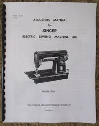 singer class 301 301 1 sewing machine service repair adjusters