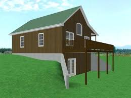 open floor house plans with walkout basement plans hillside house plans with walkout basement