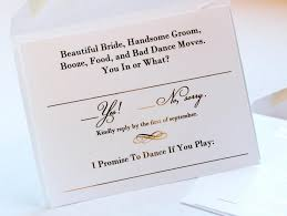 wedding invitations and rsvp wedding invitations with rsvp cards attached sle