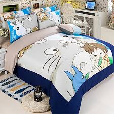 Japanese Bedding Sets Memorecool New Arrival Japanese Anime My Neighbor Totoro Cartoon 4