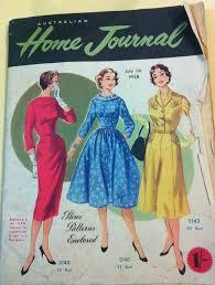 fashioning nostalgia document focus australian home journal
