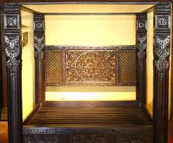 Lotus Bed Frame Pillar Bed Frame Pillar Bed Pillar Bed 4 Pillar Bed Frame