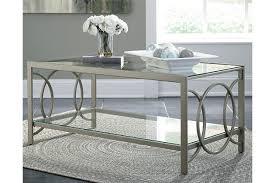 Ashley Furniture Glass Coffee Table Charmoni Coffee Table Ashley Furniture Homestore