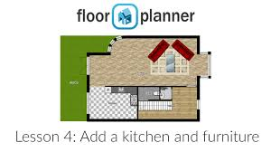 House And Furniture Floorplanner Basics 4 Add A Kitchen And Furniture Youtube