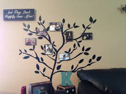 Wall Decor Stickers Walmart by Family Tree The Tree Is Vinyl Wall Stickers From Walmart The