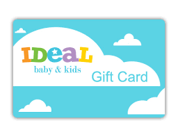 gift cards for kids ideal baby kids gift card idealbaby