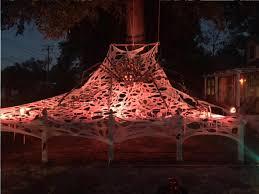 halloween spider web lights halloween decorations trenton mills llc
