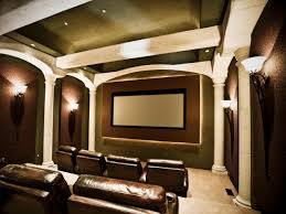 Creative Home Decorating by Home Theater Interior Design Gkdes Com