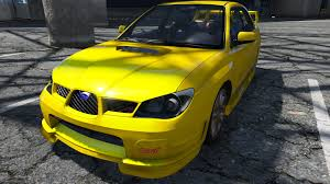 subaru impreza wrx modified 2005 subaru impreza wrx sti gta5 mods com